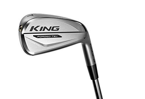 Cobra Golf 2020 King Forged Tec Iron Set (Men's, Right Hand, Steel, Reg Flex, 4-PW)