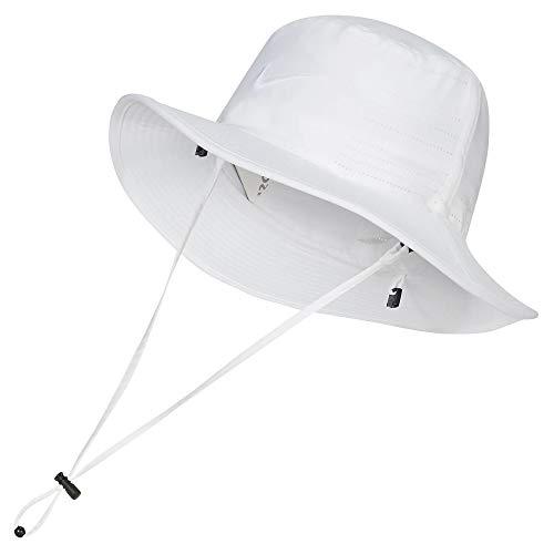 Nike Golf Dri-FIT UV Sun Bucket Hat (White/White, M/L)