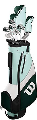 Wilson Golf Profile SGI Women's Complete Golf Set, Cart Bag, Standard Left Hand