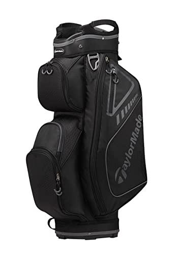 TaylorMade Select ST Cart Bag, Black/Slate