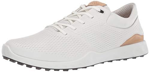 ECCO Women's S-Lite Golf Shoe, White Yak Leather, 5-5.5