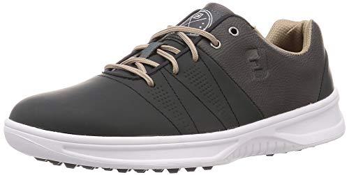 FootJoy Men's Contour Casual Previous Season Style Golf Shoes, Charcoal, 7.5 M US