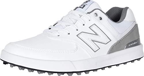 New Balance Women's 574 Greens Golf Shoe, White, 7.5