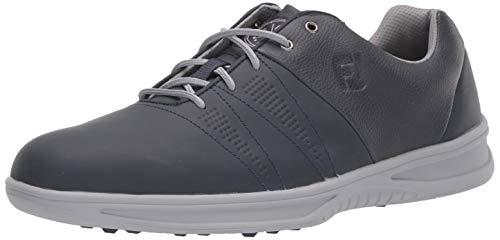 FootJoy Men's Contour Casual Previous Season Style Golf Shoes, Navy, 10 M US