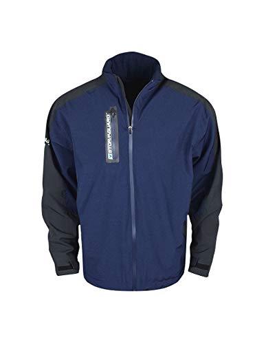 Callaway Men's Swing Tech Waterproof Long Sleeve Golf Jacket, Peacoat, Large