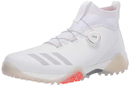 adidas Men's CODECHAOS BOA Golf Shoe, FTWR White/Orbit Grey/Crystal Whte, 12.5 Medium US