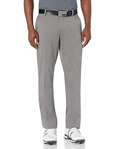Amazon Essentials Men's Straight-Fit Stretch Golf Pant, Gray, 38W x 32L