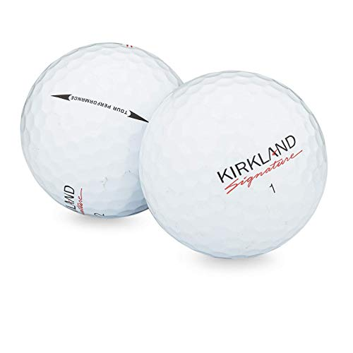 Kirkland Signature Golf Ball Mix - 50 Used Kirkland Golf Balls (AAA Signature Ksig 3-Piece 4-Piece Golfballs), White (50PK-Kirkland-3)