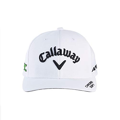 Callaway Golf 2021 Tour Authentic Performance Pro Adjustable Hat , White