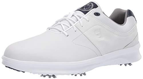 FootJoy Men's Contour Series Previous Season Style Golf Shoes, White, 10 N US