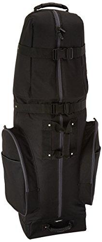 Amazon Basics Soft-Sided Golf Club Travel Bag Case With Wheels - 50 x 13 x 15 Inches, Black