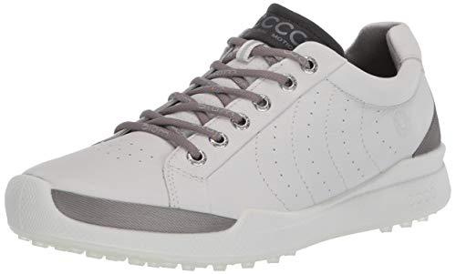 ECCO mens Biom Hybrid Hydromax Golf Shoe, Shadow White, 9-9.5 US