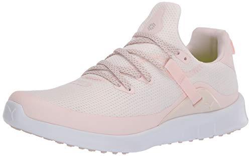 PUMA womens Laguna Fusion Sport Golf Shoe, Rosewater-puma White, 8.5 US