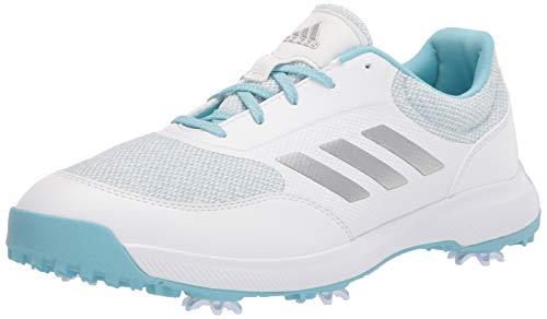adidas womens W Tech Response 2.0, White/Silver/Hazy Sky, 7.5 US