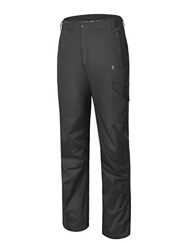 Little Donkey Andy Mens Golf Pants Waterproof Breathable Rain Pants Black Size L