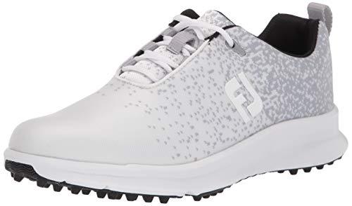 FootJoy Women's FJ Leisure Previous Season Style Golf Shoes, White, 9 M US