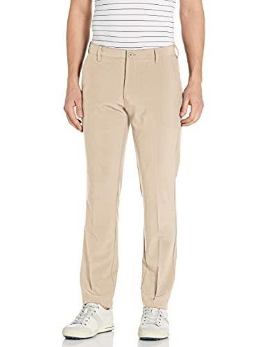 IZOD Men's Golf SwingFlex Slim Fit Pant, red Khaki, 36W X 32L