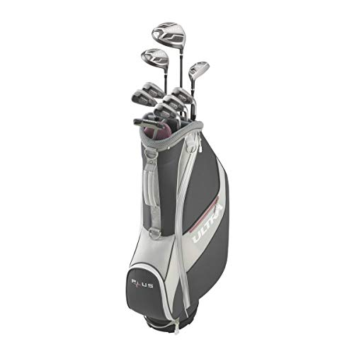 Wilson Golf Ultra Plus Packageset, Women's Right Handed, Regular Cart