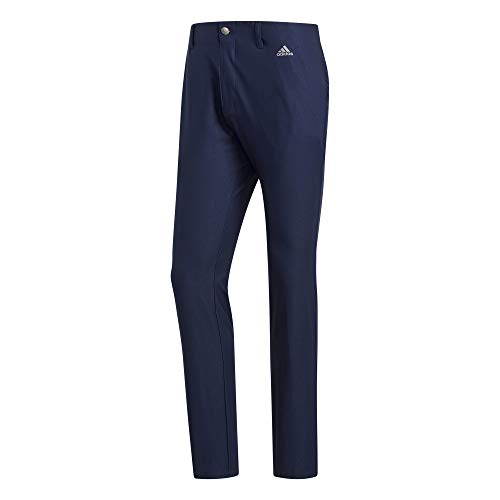 adidas Golf Ultimate 3-stripe Tapered Pant, Collegiate Navy, 3030