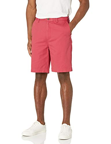 Amazon Essentials Men's Classic-Fit 9' Short, Washed Red, 32