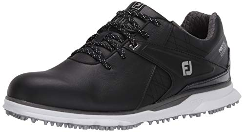 FootJoy Men's Pro|SL Carbon Previous Season Style Golf Shoes, Black, 10 M US