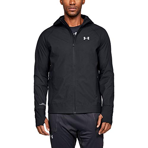 Under Armour Men's GORE-TEX WINDSTOPPER Jacket, Black (001)/Reflective, Small