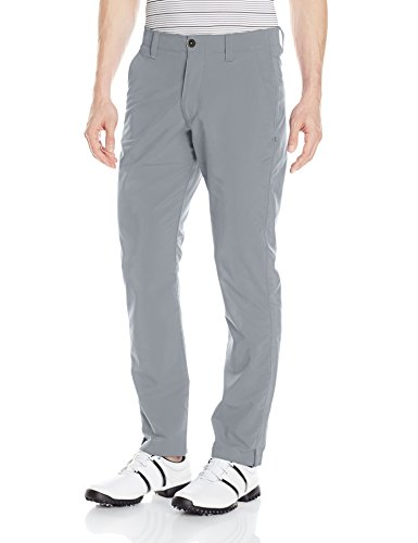 Under Armour Men's Match Play Golf Tapered Pants, Steel /Steel, 38/32