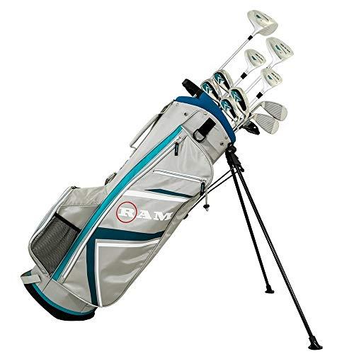 Ram Golf Accubar Plus Ladies Petite Golf Clubs Set -Graphite Shaft Woods &Irons
