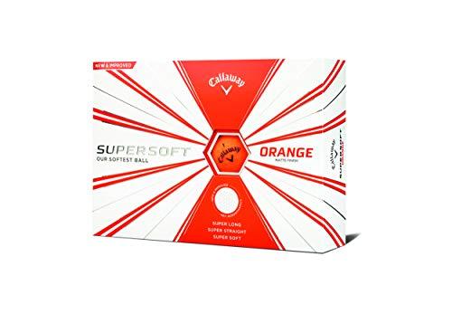 Callaway Golf Supersoft Golf Balls (Matte Orange), Prior Generation