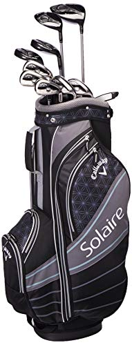 Callaway Golf 2018 Solaire Package Set, 11 Piece, Black, Right Hand, Regular
