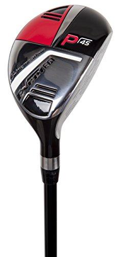 Pinemeadow Golf Men's Excel EGI Hybrid Club, Graphite, 36-Degree, 8, Regular, Right Hand