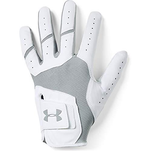 Under Armour Men's UA Iso-Chill Golf Gloves , Steel (035)/Steel , Left Hand Large