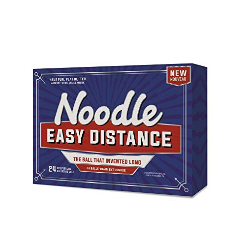 TaylorMade 2018 Noodle Easy Distance Golf Ball, White (Pack of 15),Large