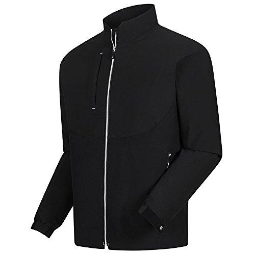 FootJoy New DryJoys Tour LTS RAIN Golf Jacket Black/White Small
