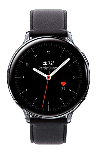 SAMSUNG Galaxy Watch Active 2 (40mm, GPS, Bluetooth, Unlocked LTE) Smart Watch with Advanced Health monitoring, Fitness Tracking , and Long lasting Battery, Silver - (US Version)