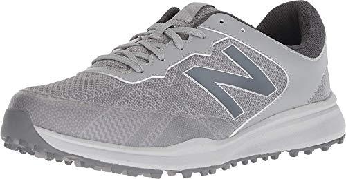 New Balance Men's Breeze Breathable Spikeless Comfort Golf Shoe, Grey, 10.5 D D US