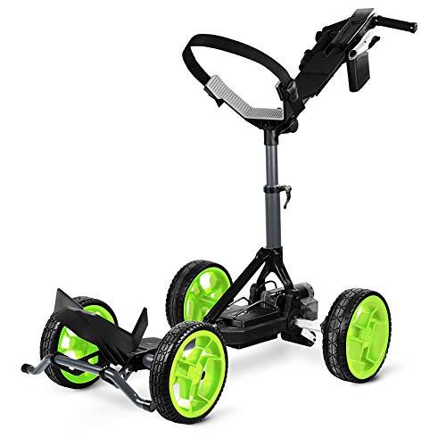 Sun Mountain 2020 RC1 Remote Lithium Golf Push Cart - Gunmetal/Flash