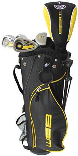 Go Kids' Web Golf Set, Yellow, Size 4-5