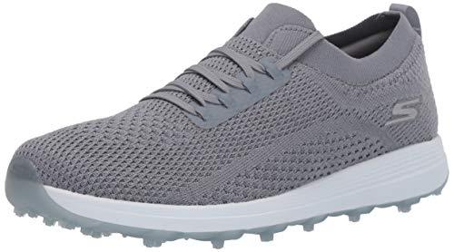 Skechers Women's Max Golf Shoe, Slate Knit, 7.5 M US