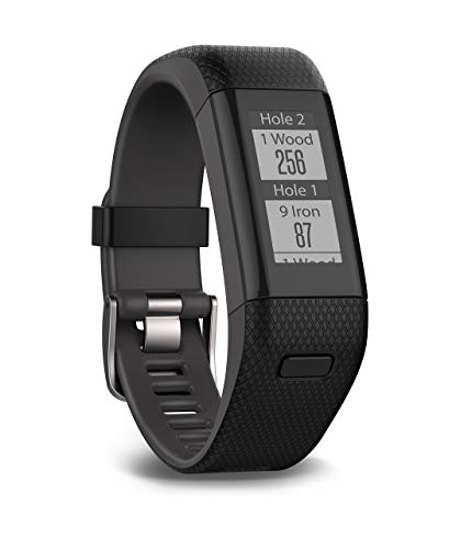 Garmin Approach X40, GPS Golf Band and Activity Tracker with Heart Rate Monitoring, Black (Renewed)