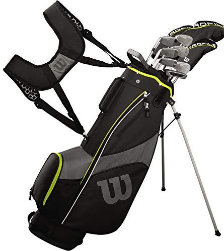 Wilson Teen Profile SGI Complete Golf Set - Teen, Right Hand, Black/Yellow
