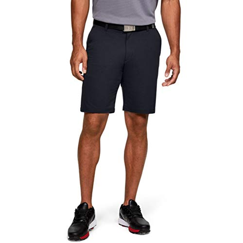 Under Armour Men's Tech Golf Shorts , Black (001)/Black , 36