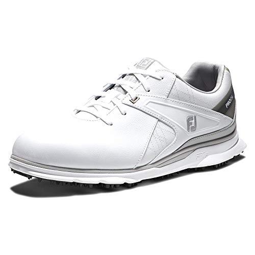 FootJoy Men's Pro|SL Previous Season Style Golf Shoes, White/Grey, 12 M US