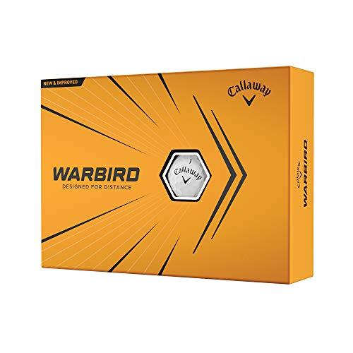 2021 Callaway Warbird Golf Balls , White