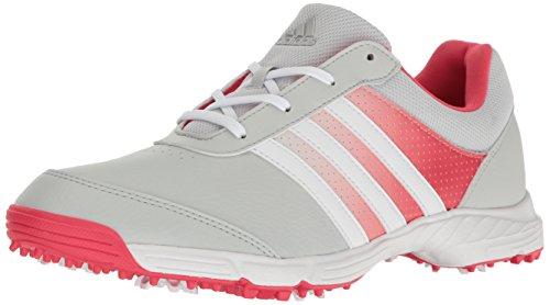 adidas Women's Tech Response Golf Shoe, Clear/Grey, 5 M US