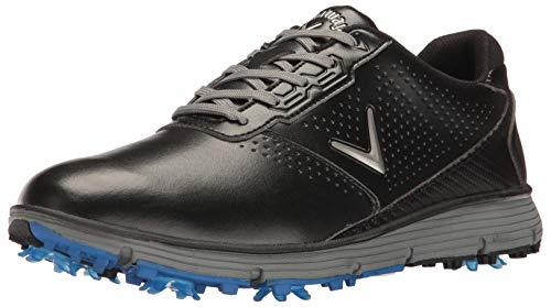 Callaway mens Balboa Trx Golf Shoe, Black/Grey, 10.5 US