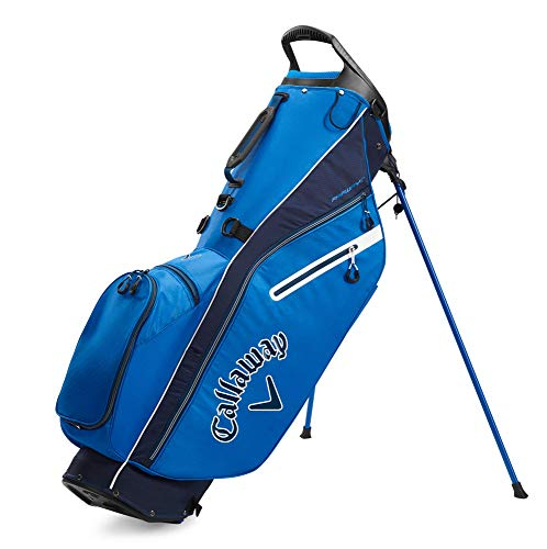Callaway Golf 2020 Fairway C Stand Bag (Royal/Navy/White, Double Strap)