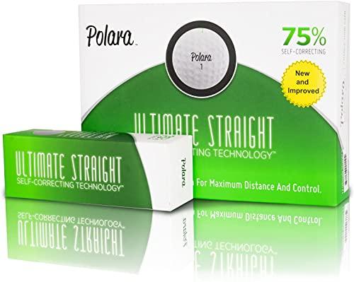 Polara Ultimate Straight Self Correcting 2 Piece Golf Balls (1 Dozen)