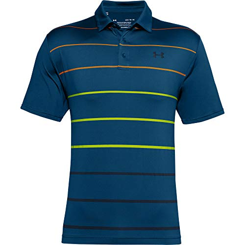 Under Armour Men's Playoff 2.0 Golf Polo , Graphite Blue (581)/Academy Blue , Large