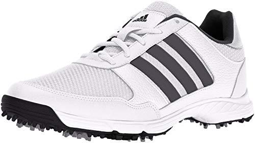 adidas Men's Tech Response Golf Shoe, White, 9 M US